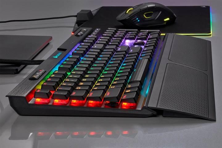Corsair yeni düşük profil K70 RGB MK.2 klavyelerini duyurdu