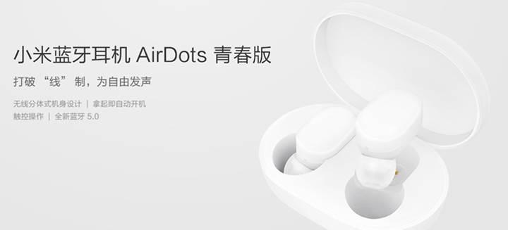 Xiaomi'den AirPods'a ekonomik rakip: Mi AirDots Youth Edition