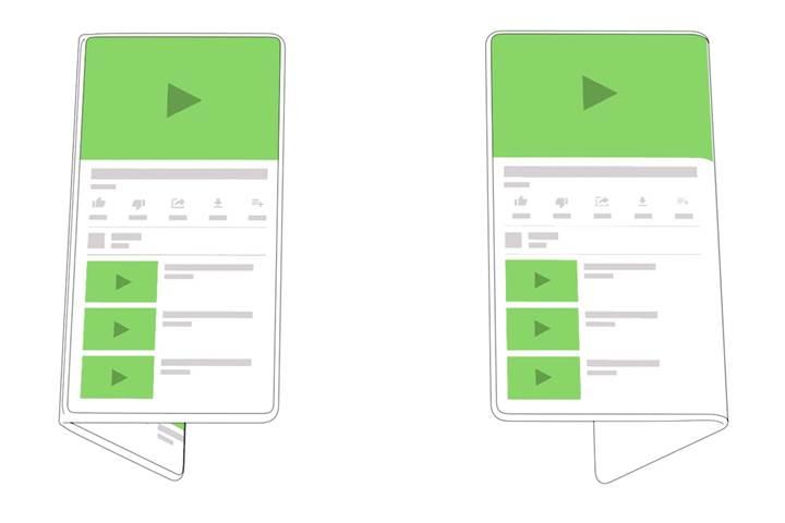 Android yerleşik olarak katlanabilir ekranlara destek verecek