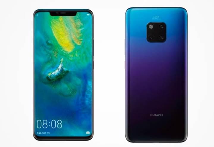 8000TL fiyat etiketiyle Huawei Mate 20 Pro satışa sunuldu