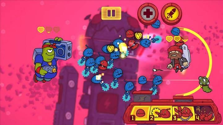 Farklı battle royale oyunlarından Space Fuss büyük indirime girdi