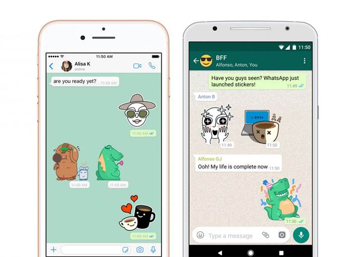 WhatsApp'a yakında çıkartma arama özelliği geliyor