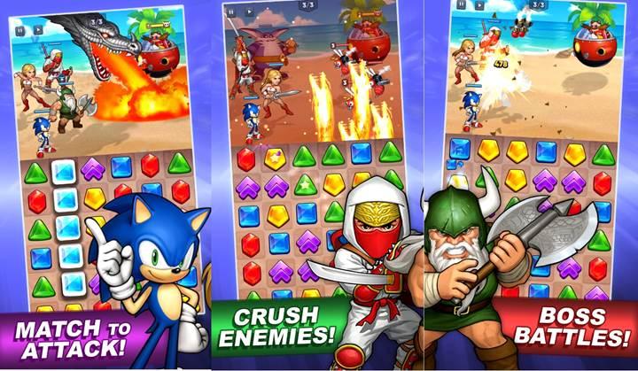 SEGA karakterleri bu yeni RPG renk eşleştirme oyununda buluşuyor