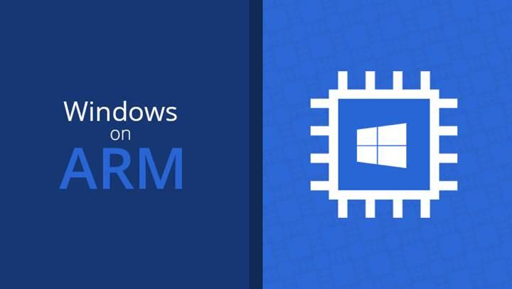 ARM tabanlı Windows bilgisayarlarda yerleşik uygulama dönemi