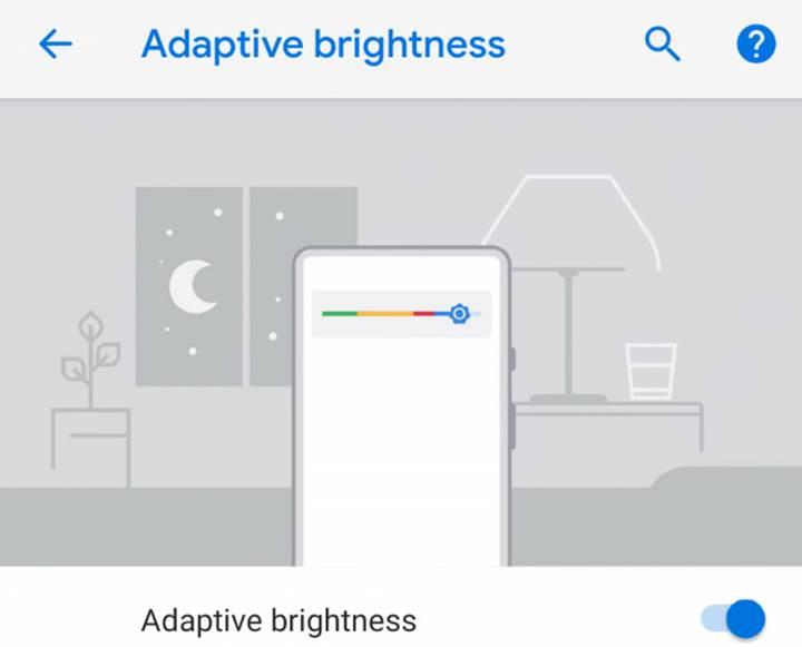 Android Pie işletim sistemindeki adaptif parlaklık özelliği, makine öğrenimini kullanıyor