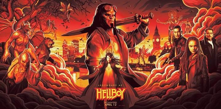 Yeni Hellboy filminden ilk fragman geldi
