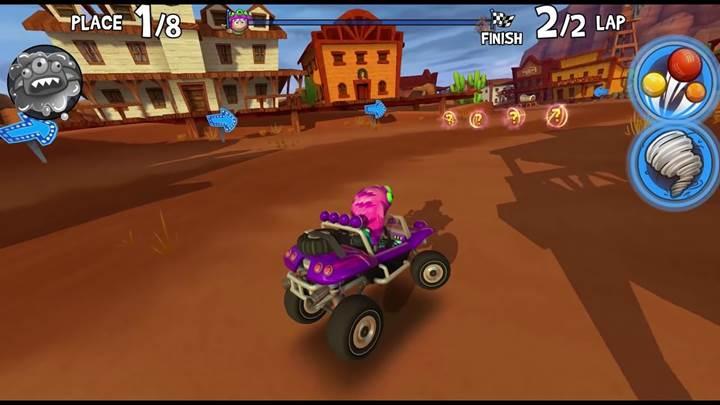 Riptide geliştiricilerinden Beach Buggy Racing 2 gokart oyunu