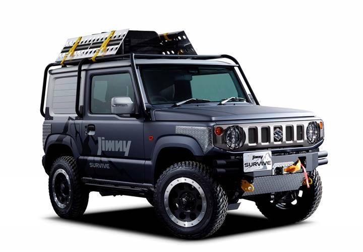 Yeni Suzuki Jimny'nin pickup versiyonu geliyor