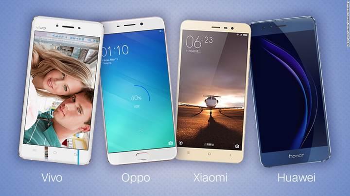 Apple ve Samsung, üçüncü çeyrekte premium telefon satışlarını arttırdı