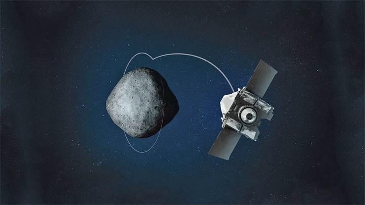 NASA'nın OSIRIS-REx uzay aracı, Bennu asteroidinin yörüngesine oturdu