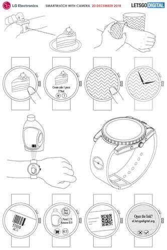 LG modüler kamera sistemine sahip bir akıllı saat çıkarmayı planlıyor