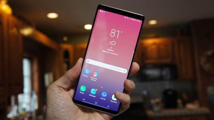 Galaxy Note 9 için Android 9.0 Pie güncellemesi başladı