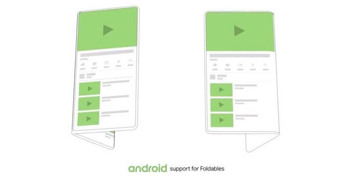 Google'ın katlanabilir telefonuyla ilgili detaylar ortaya çıkıyor