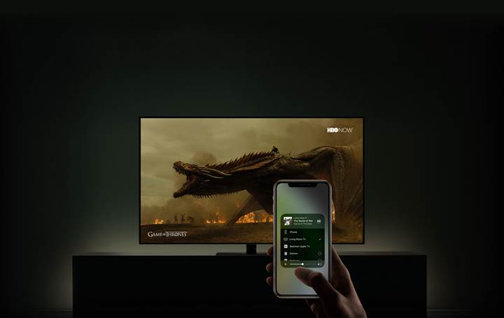 Apple ve Samsung'dan dev iş birliği: TV'lere iTunes ve AirPlay 2 geliyor