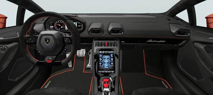 640 beygirlik yeni Lamborghini Huracan EVO ortaya çıktı
