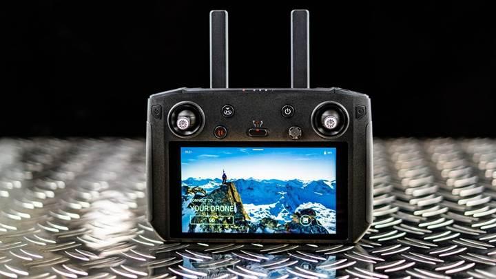 DJI droneları için HD ekranlı kontrolcü