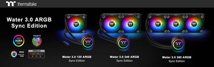 Thermaltake, RGB aydınlatmalı yeni sıvı soğutma çözümlerini duyurdu