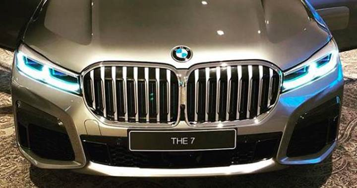 2020 BMW 7 Serisi'nin tasarımı ortaya çıktı