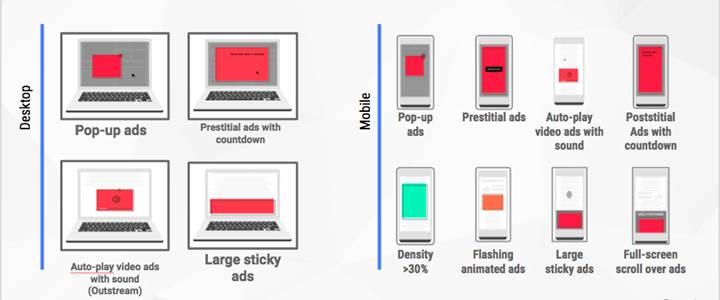 Google Chrome'un dahili reklam engelleyicisi 9 Temmuz'da etkinleşiyor
