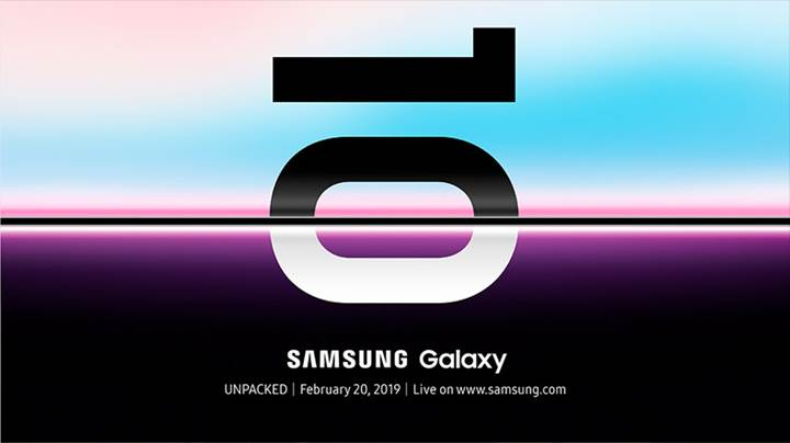 Samsung resmen açıkladı: İşte Galaxy S10'un tanıtım tarihi