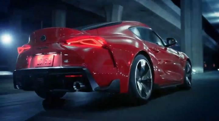 Yeni Toyota Supra'nın yanlışlıkla resmi tanıtım videosu paylaşıldı