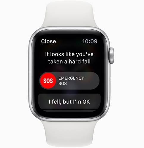 Apple Watch 4 kayak yaparken yanlış düşme alarmı veriyor