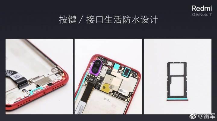 Redmi Note 7 aslında sugeçirmez (biraz)
