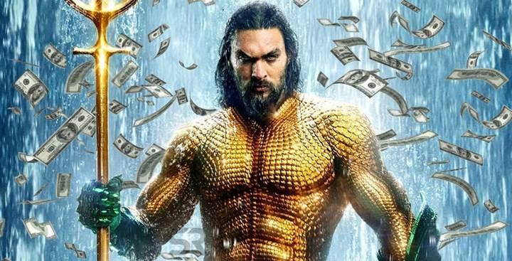 Aquaman, gişede 1 milyar doları geride bıraktı