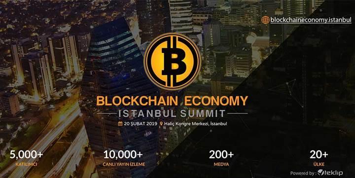 Blok zinciri ekonomisi İstanbul'da konuşulacak