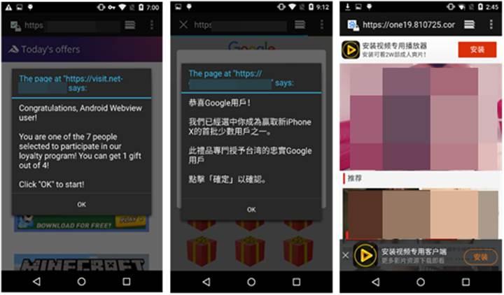 Google Play mağazasında milyonluk uygulamalar zararlı yazılım barındırıyor