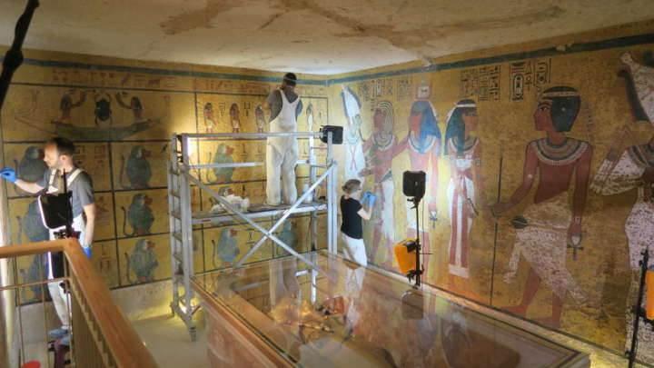 Tutankamon'un mezarı, 9 yıllık çalışma sonucunda restore edildi ve ziyarete açıldı