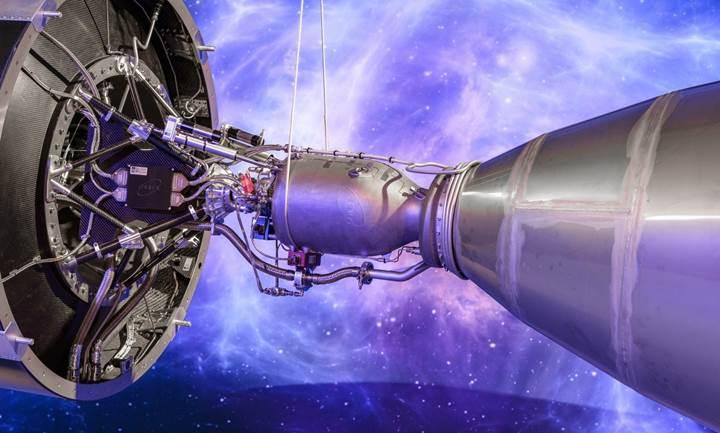 Dünyanın en büyük 3D baskılı roket motoru