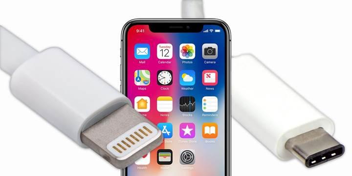 Yeni iPhone'larda USB-C portu olmayacak