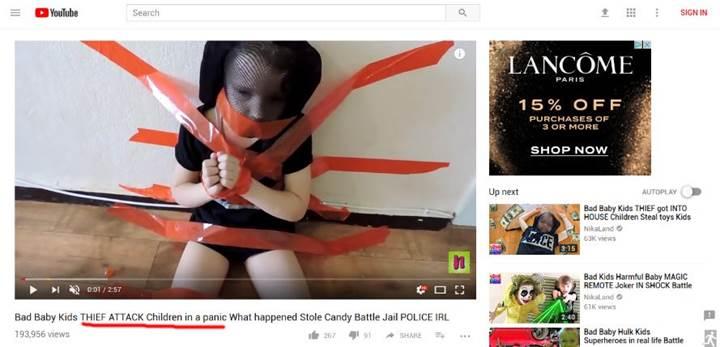 Çocukların istismarı konusu YouTube'un başını ağrıtıyor