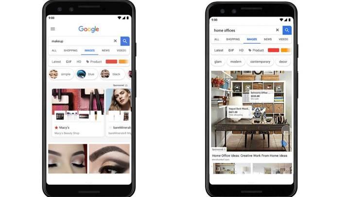 Google Görseller üzerinde fiyat gösteren yeni bir reklam formatı geliyor
