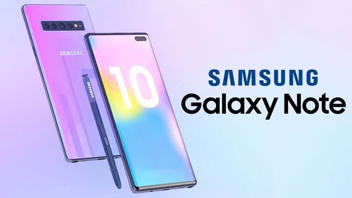 Samsung Galaxy Note 10'un 5G özellikli versiyonu da olacak