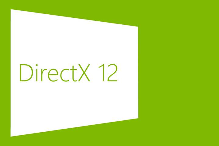 Windows 7'ye DirectX 12 desteği geldi