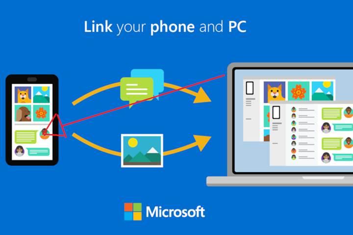 Microsoft Telefonunuz uygulaması ile Android cihazlara link paylaşın