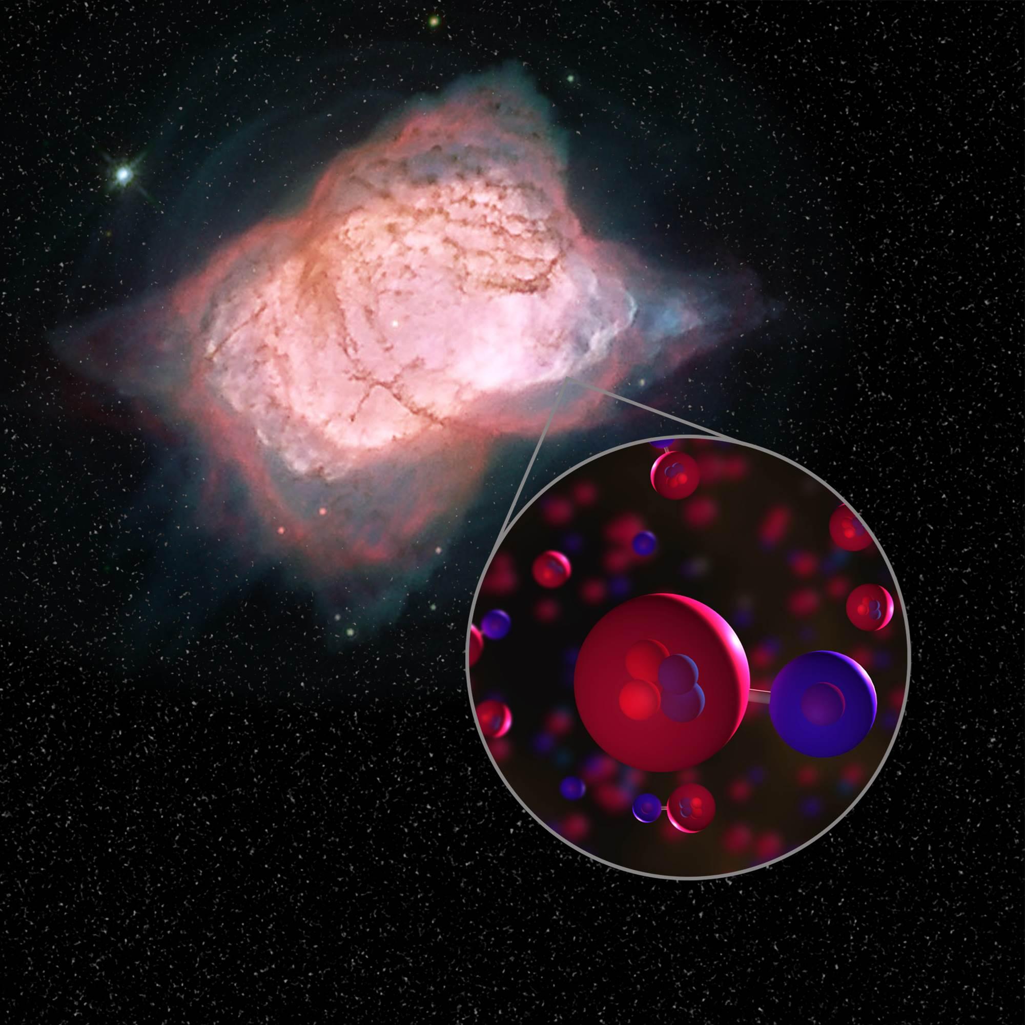 NASA, evrenin en eski molekülünün izini 3,000 ışık yılı uzaklıkta buldu