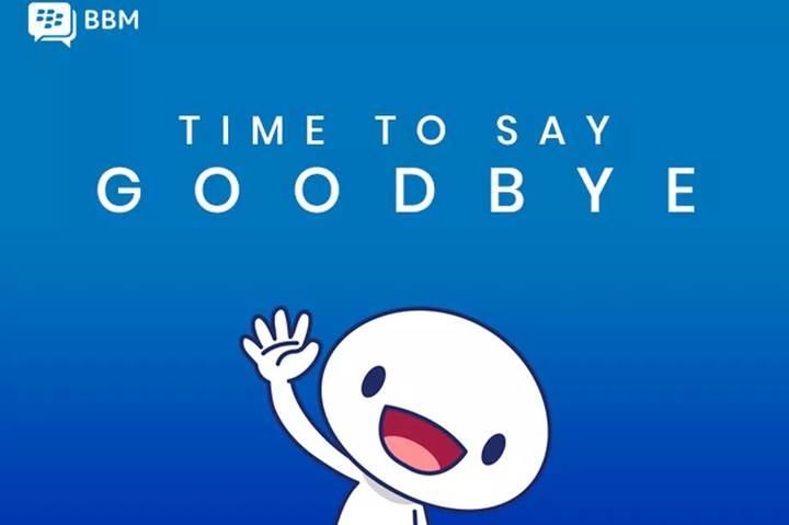 Bir dönem sona erdi: BlackBerry Messenger (BBM), 31 Mayıs itibarıyla kapanıyor
