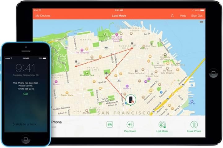 Apple kayıp cihazları bulan uygulamalarını birleştiriyor