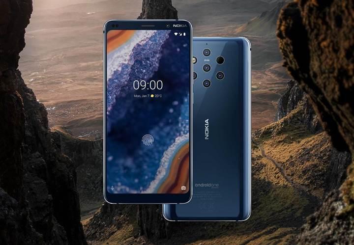 Nokia 9 PureView'un parmak izi kilidi bir paket sakızla açılabiliyor