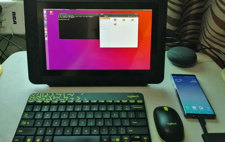 Linux on DeX desteği Galaxy S9, S10 ve Galaxy Tab S5e için de sunuldu