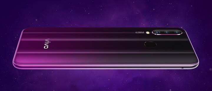 Üç arka kamera ve 5.000 mAh pile sahip Vivo Y17 resmen tanıtıldı