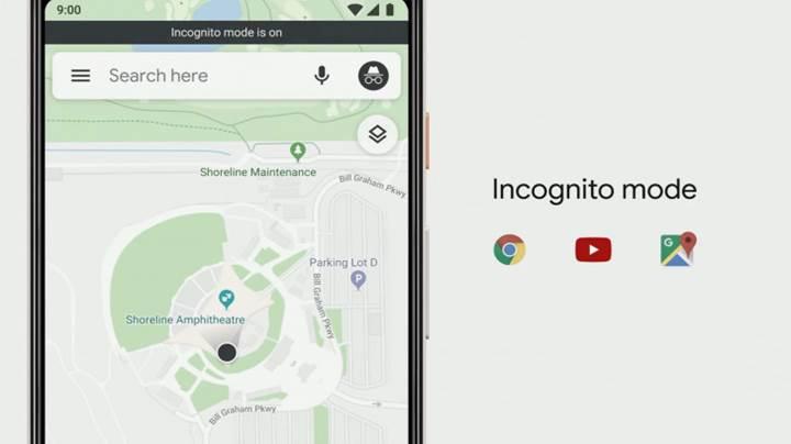 Google Haritalar ve Arama uygulamalarına gizli mod özelliği geliyor