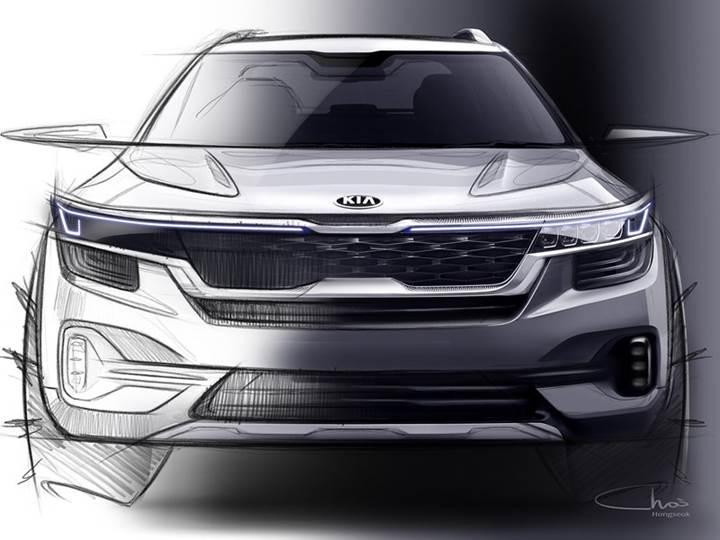Kia, bu yaz tanıtacağı yeni kompakt SUV'un ilk görüntülerini paylaştı