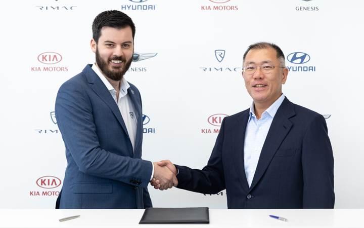 Hyundai ve Rimac, birlikte spor otomobil geliştirecek