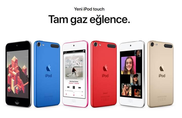 İşte karşınızda Yeni iPod Touch