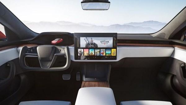 Yeni Tesla Model S'te Cyberpunk 2077 oynatacak ekran kartı AMD imzalı  olabilir