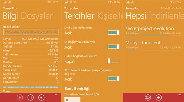 Windows Phone uyumlu Torrex Pro güncellendi | DonanımHaber